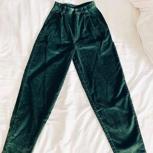 Pants - High waisted corduroy pants